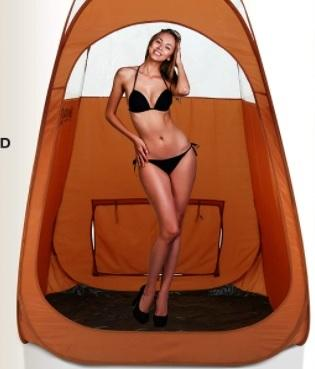 tan tent by Amazon