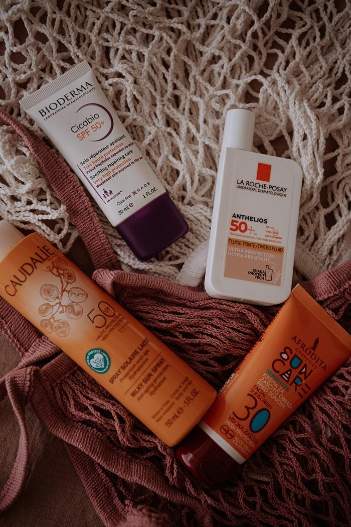 best susncreen products on the market by Anastasija Thirsty for tan