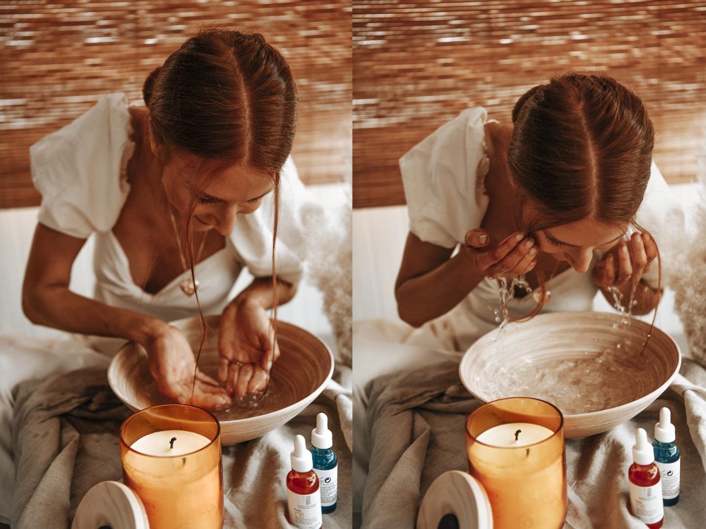 spray tan preparation by Anastasija thirtsty for tan